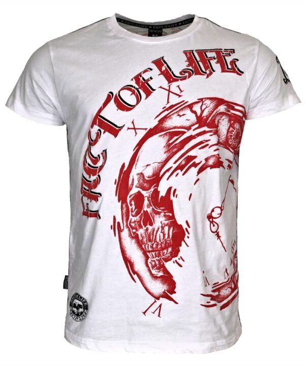 Fact of Life T-Shirt TS-40 weiß