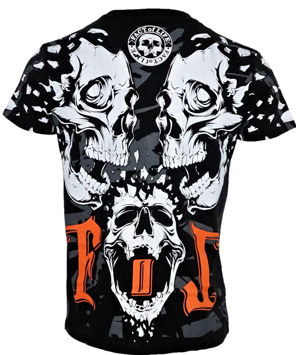 """Fact of Life T-Shirt TS-34 """"Destruction"""" schwarz"""