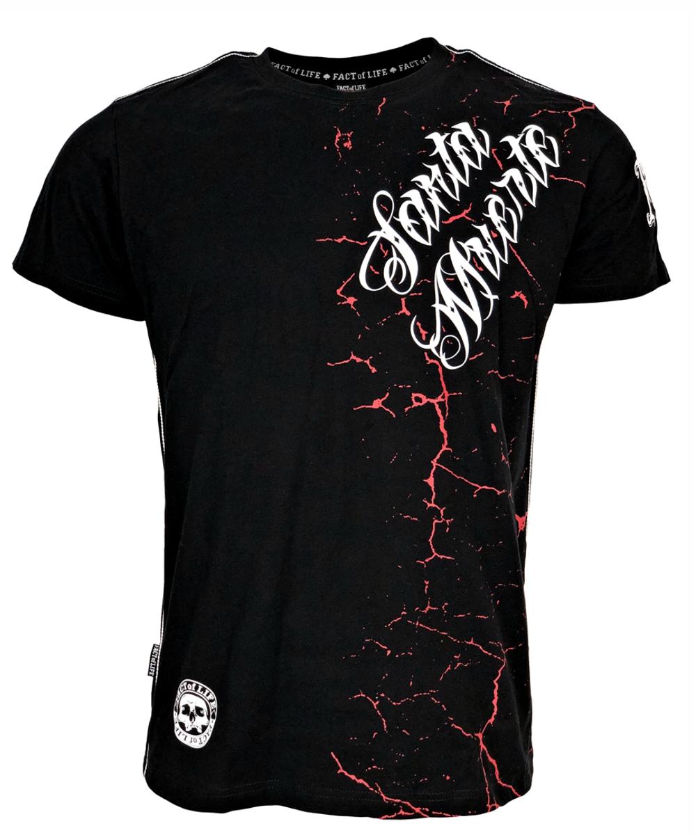 "Fact of Life T-Shirt ""Santa Muerte"" TS-39 black"