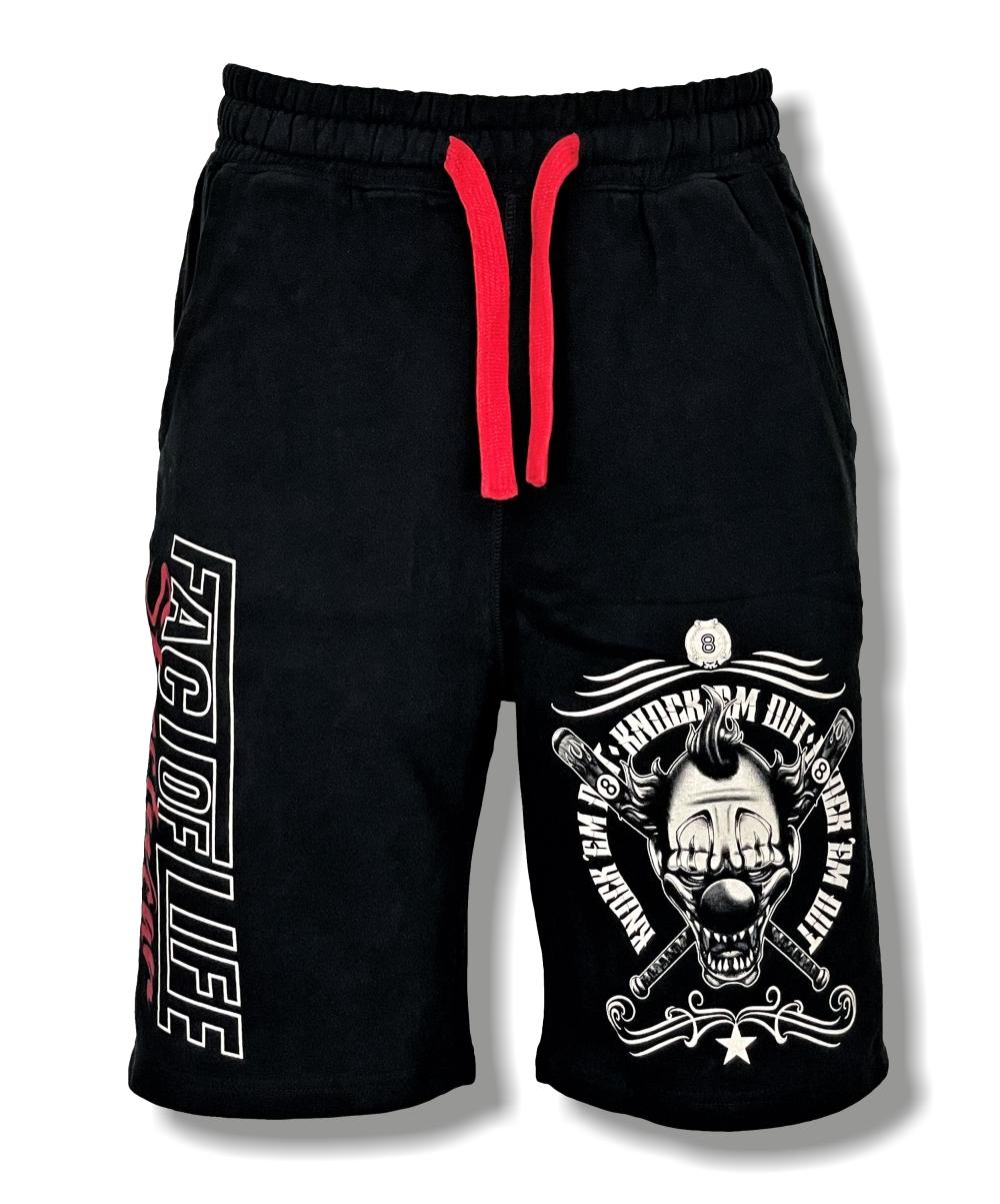 "Fact of Life Shorts ""Knockèm Out"" S-01 black"