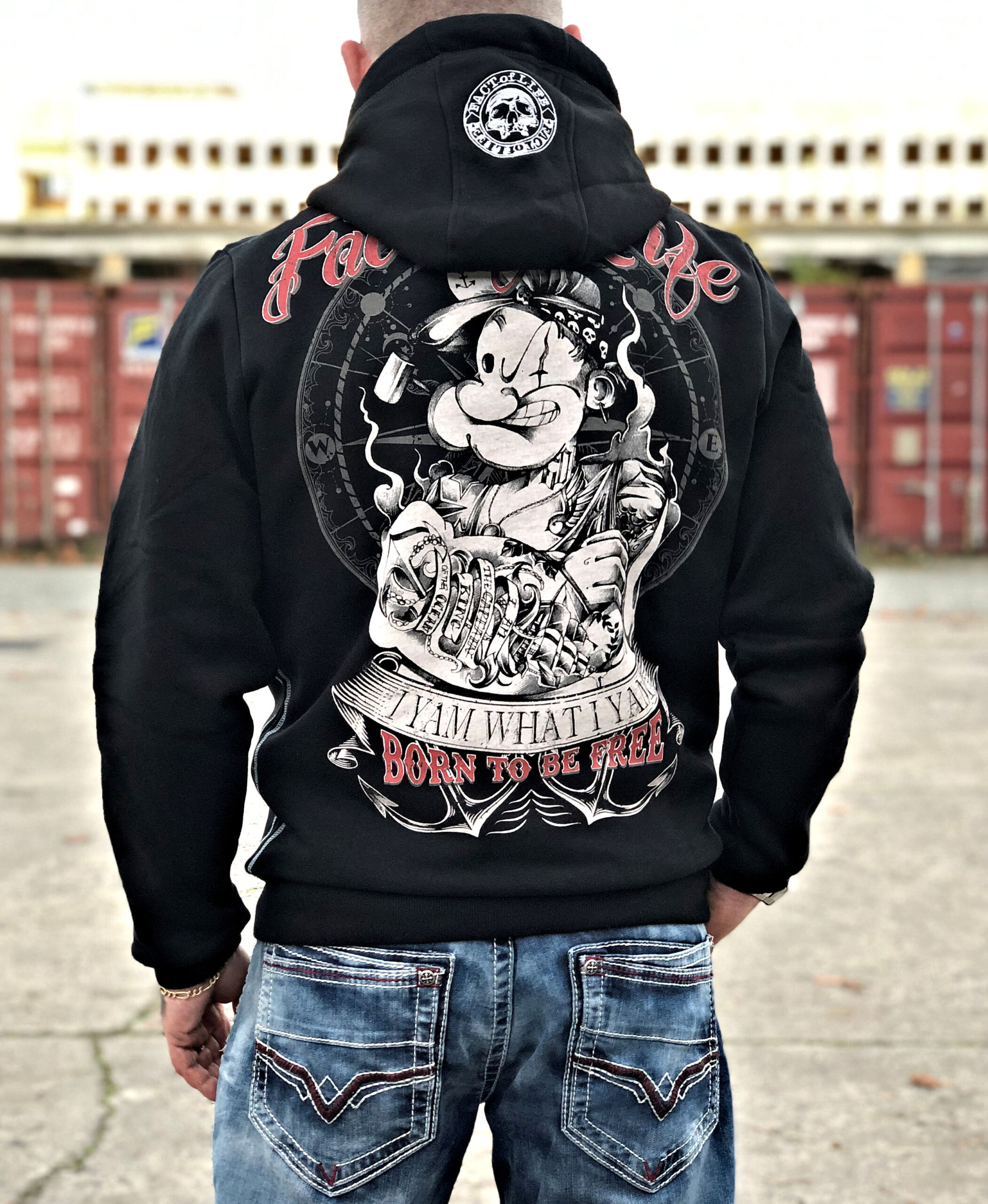 Fact of Life Born To Be Free Hoodie